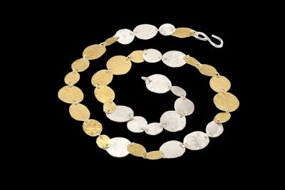 G.&.S 2: gold plated silver necklace